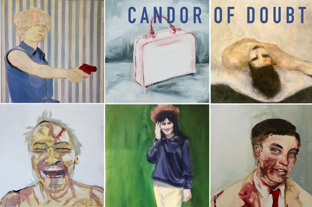 Candor of Doubt - exhibition of figurative paintings at Scratch Art Space, Marrickville Sydney